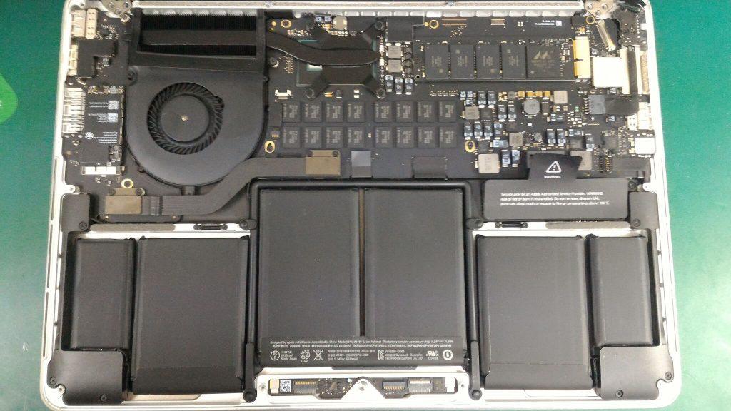 MacBook Pro Retina13.3inchメイン基盤④