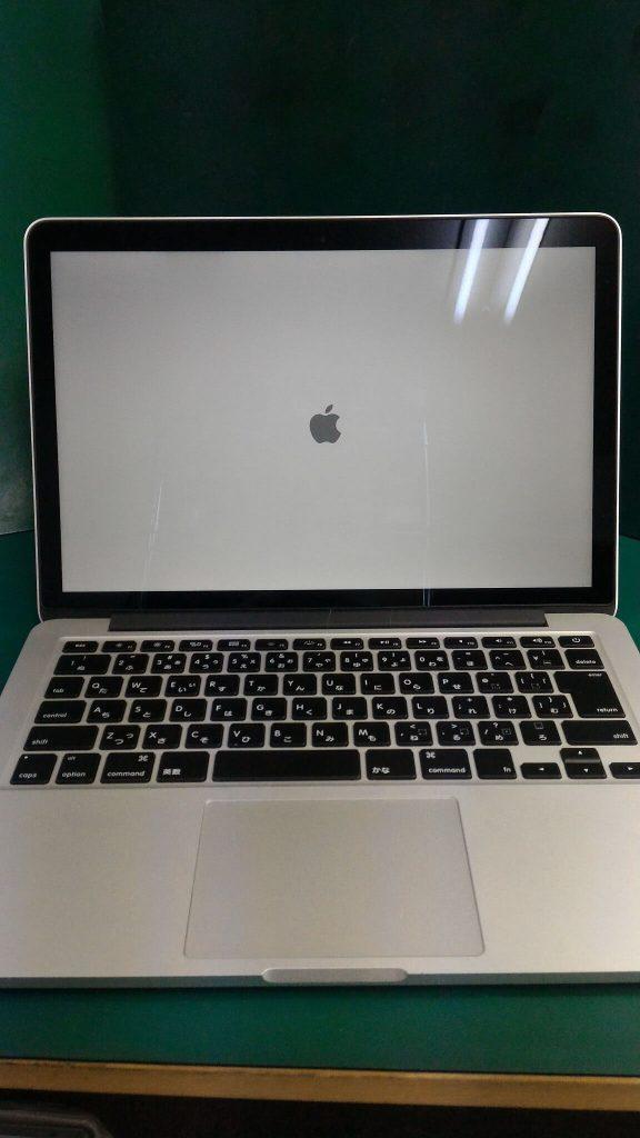 MacBook Pro Retina13.3inch画面割れ修理④