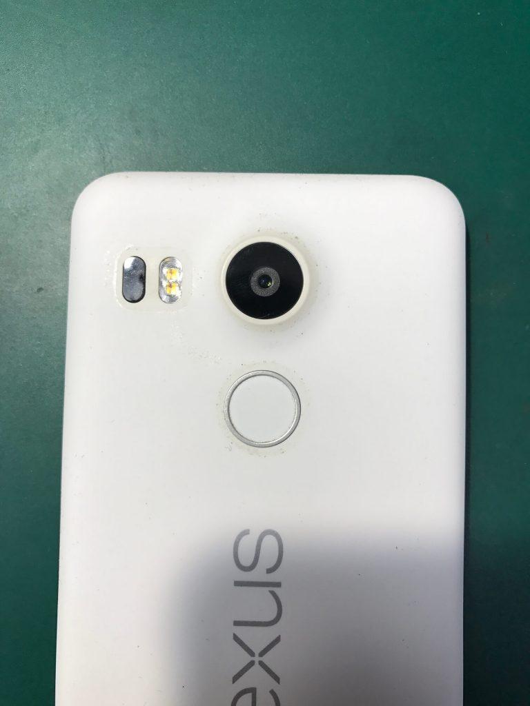 Nexus 5Xカメラガラス交換修理完了