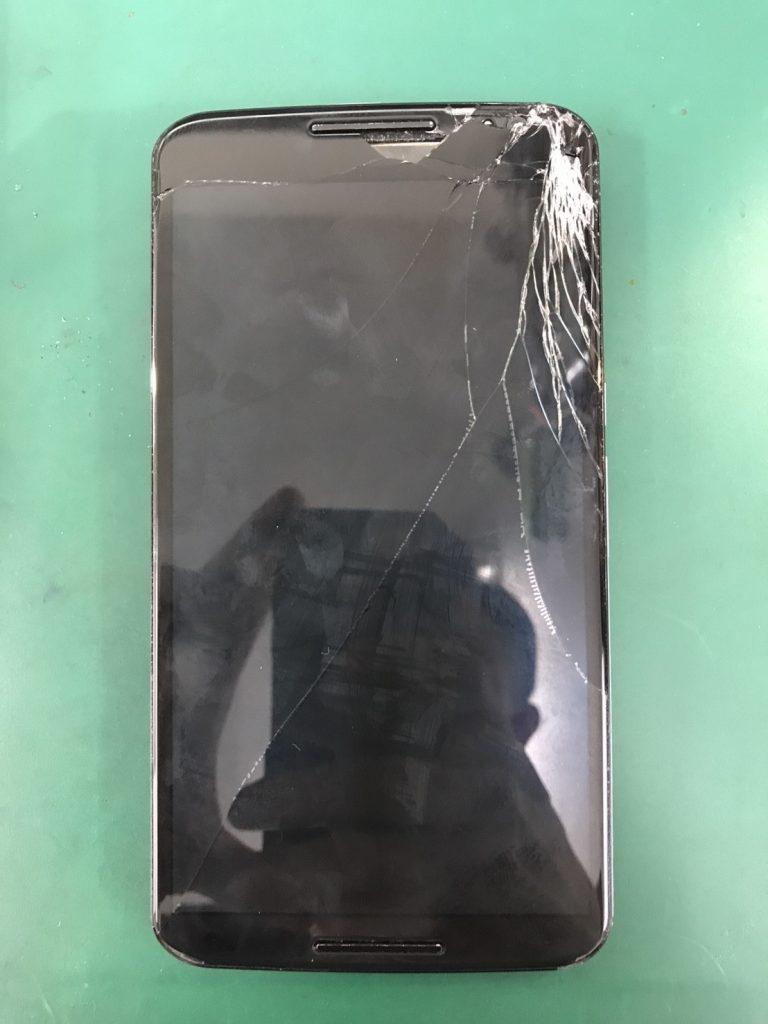 Nexus 6画面割れ修理①