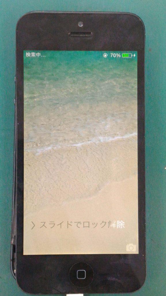 iPhone5水没修理⑤