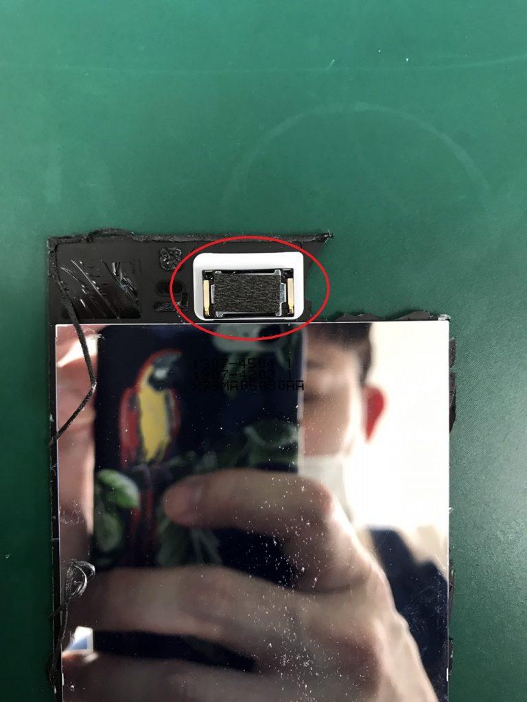 Xperia XZ1画面割れ修理工程8