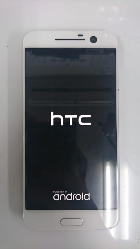 HTC10画面割れ修理④