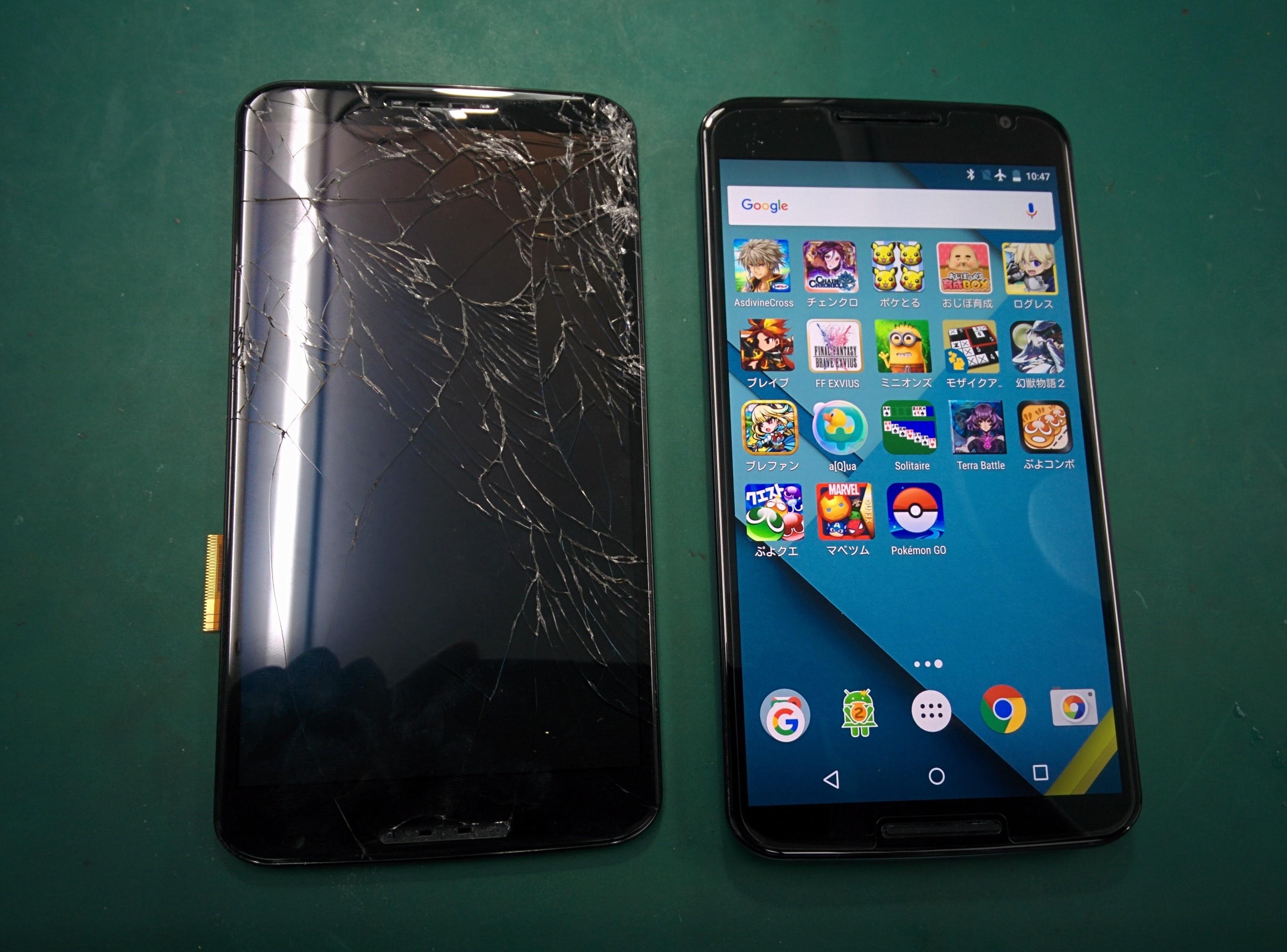 Nexus6修理